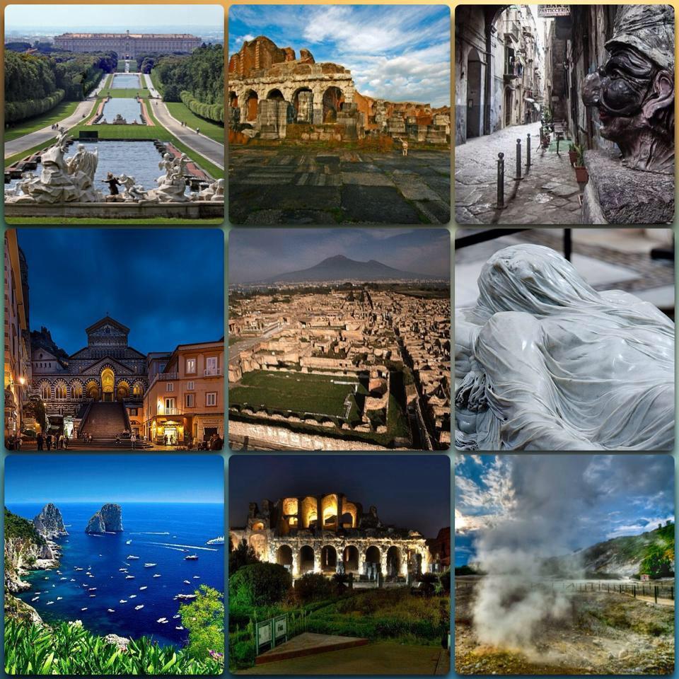 Scegli il tuo tour in Campania